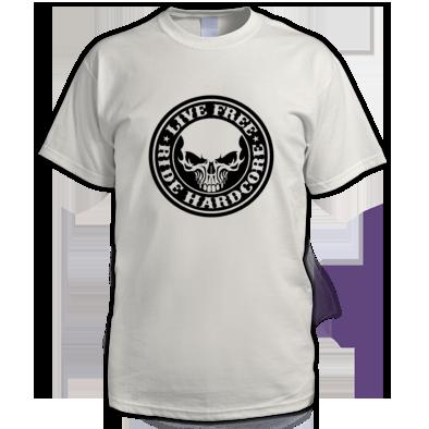 Live Free Ride Hardcore men T-Shirt