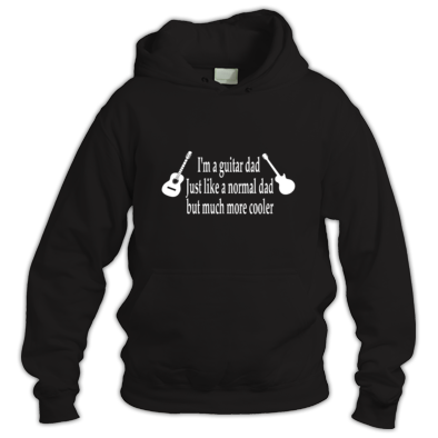 Guitar dad but much cooler Hoodie