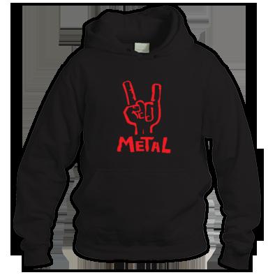 Metal \m/ Hoodie