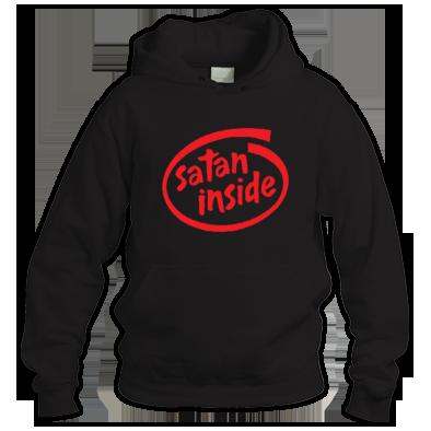 Satan inside Hoodie