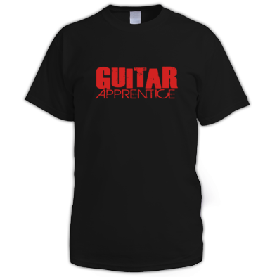 Guitar Apprentice men t-shirt