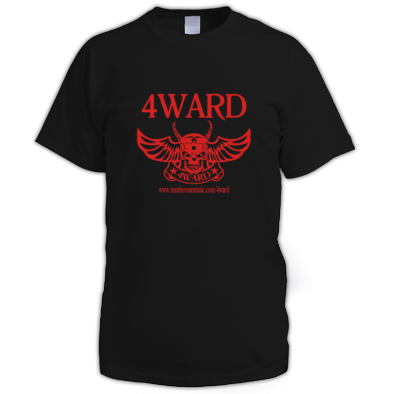 4WARD Skull #2 men t-shirt