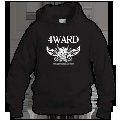 4WARD Skull #2 hoodie