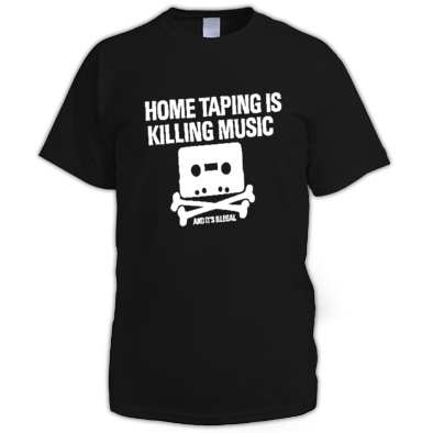 Home tapping illegal men t-shirt
