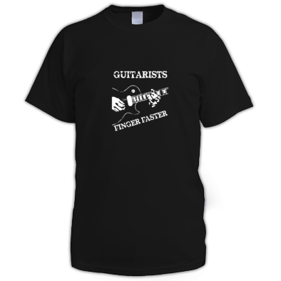 Guitarist finger faster T-Shirt