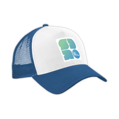 SDR Green to Blue Logo Adjustable Cap