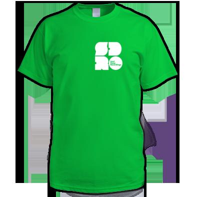 White on Irish Green