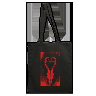 Entenn Studio x Gossamer Veil EVIL Ram's Head Tote Bag