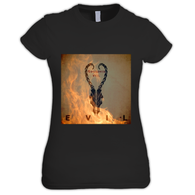 EVIL Artwork Ladies T-Shirt