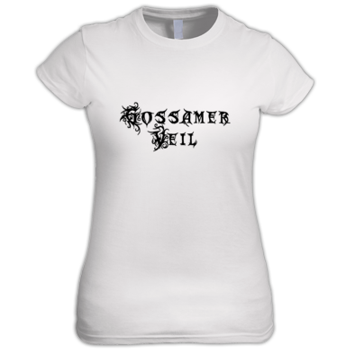Gossamer Veil Band Logo Ladies T-Shirt