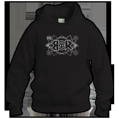 Blak'd Out Logo Hoodie