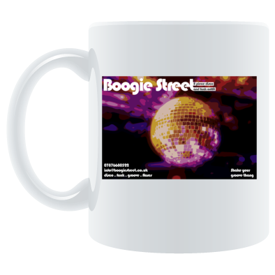 Don't be a mug - Boogie!