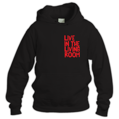 Live In The Living Room Logo Standard Hoodie