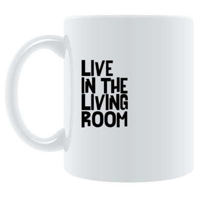 Live In The Living Room Logo Standard