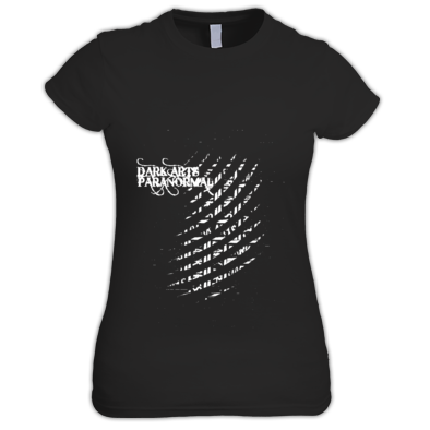 DARK ARTS PARANORMAL THUMBPRINT FEMALE T-SHIRT