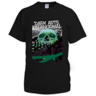DARK ARTS BLACK SKULL PRINT MALE