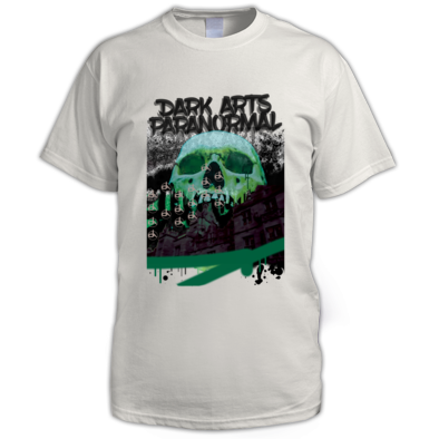 DARK ARTS WHITE SKULL PRINT MALE