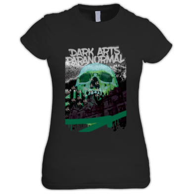 DARK ARTS BLACK SKULL PRINT FEMALE