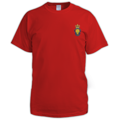Mens T-shirt with Crest