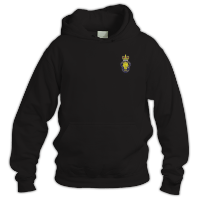 Hoodie with Crest