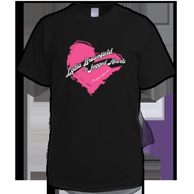LB/JH Pink Heart - Reverse