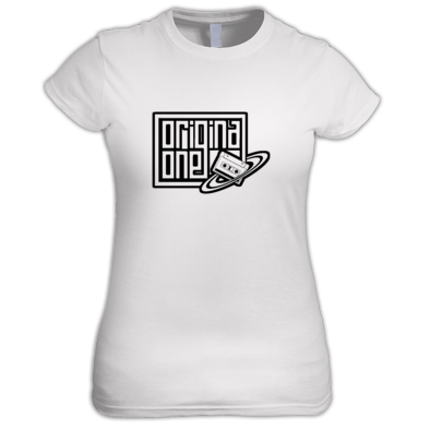 Original One Femme Tee (Transparent Logo)