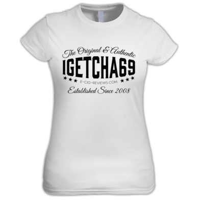 igetcha69 T-Shirt (Black Logo)