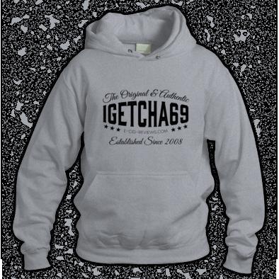 igetcha69 Hoodie (Black Logo)