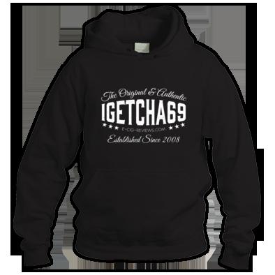 igetcha69 Hoodie (White Logo)