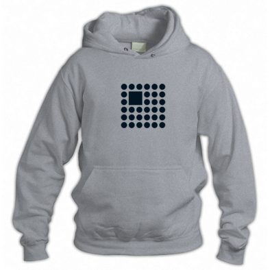 Simple Big Square Logo Hoodie