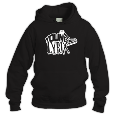 Young Lyrix Black & White Hoodie