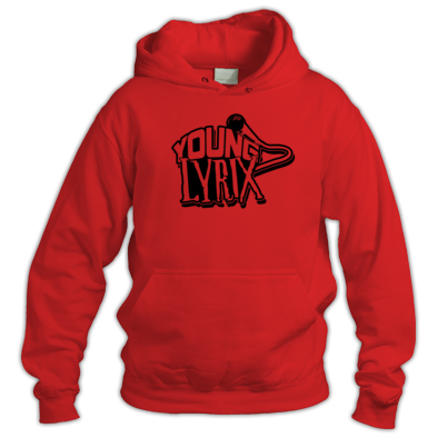 Young Lyrix Red Hoodie
