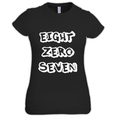 EIGHTZEROSEVEN WOMENS TEE