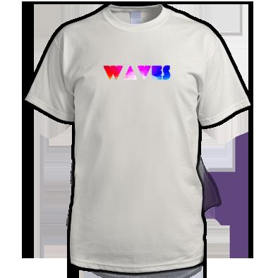Waves Geometric Pattern Raves Festival tshirt