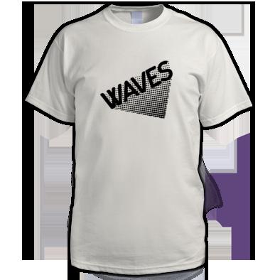 Waves Pattern Raves Festival tshirt
