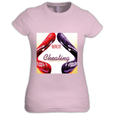 CHEATING COVER WOMENS T-SHIRT