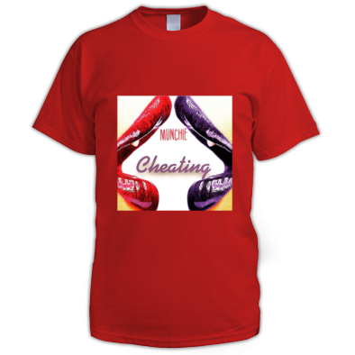 CHEATING COVER MENS T-SHIRT