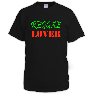 Reggae Lover color logo tee