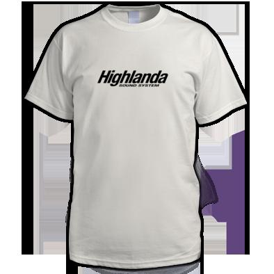 Highlanda logo tee