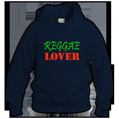Reggae Lover color logo Hoodie