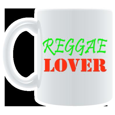 Reggae Lover color logo Mug