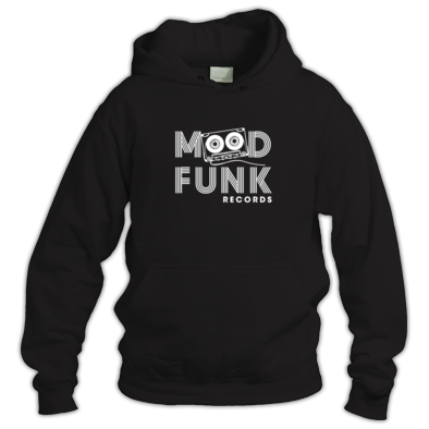 Mood Funk - White Logo Square