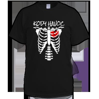Skeleton Broken Heart Tee