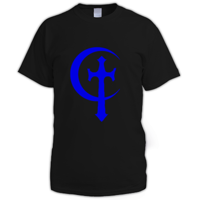 Cross & Moon men's t-shirt