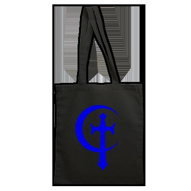 Cross & Moon Tote Bag