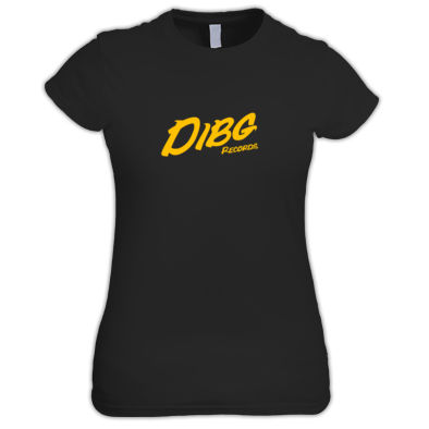 T- Shirt for woman -  DIBG Records (logo)
