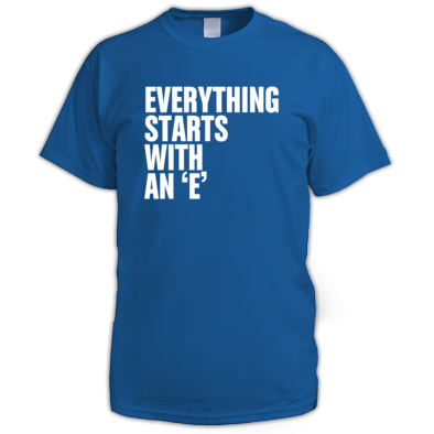 Mens 'Everything...' Tee