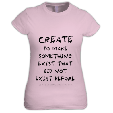 Create Text T shirt