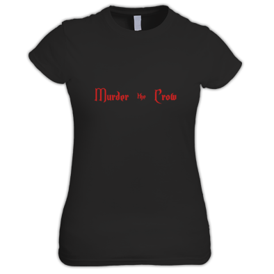 Murder the Crow Babydoll T w/logo