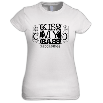 Womens Kiss My Bass Tee